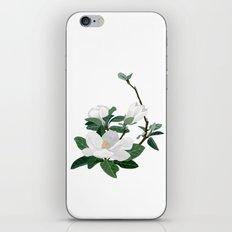 Magnolia Flowers iPhone Skin