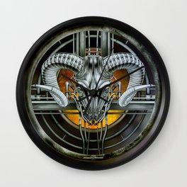 """""""Astrological Mechanism - Aries"""" Wall Clock"""