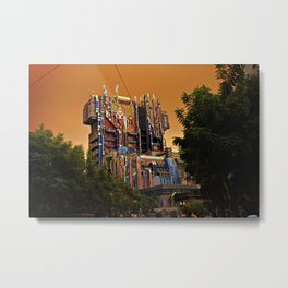 Guardians of the Galaxy: Mission Breakout at California Adventure Metal Print