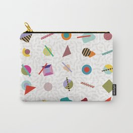 Gridlock Geometric Summer Carry-All Pouch