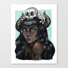 soft//hard Canvas Print