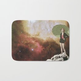 Lady in Space I Bath Mat