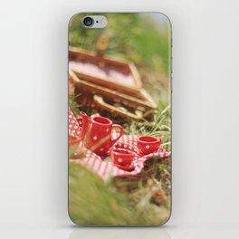 riverside teaparty iPhone Skin