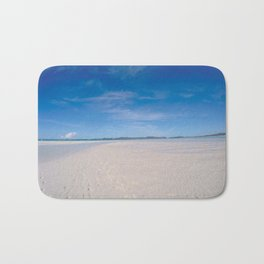 Whitehaven beach Bath Mat