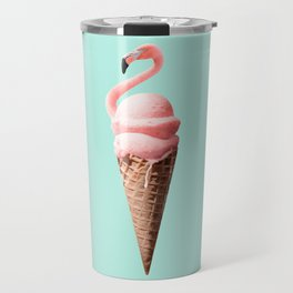 FLAMINGO CONE Travel Mug