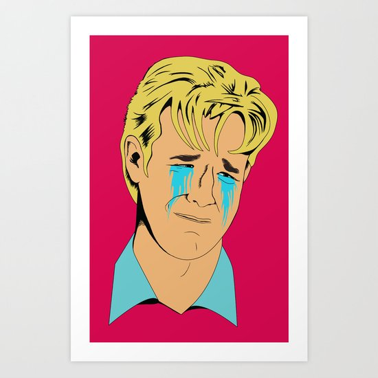 Crying Icon #1 - Dawson Leery Art Print