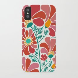 The Happiest Flowers III iPhone Case