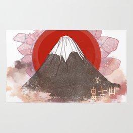 Mount Fujiyama Rug