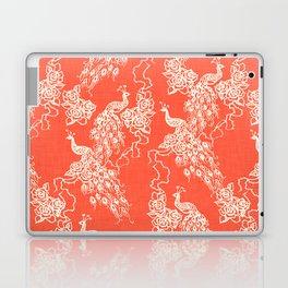 PEACOCK - coral Laptop & iPad Skin