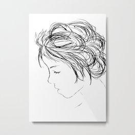 Sketch1 Metal Print