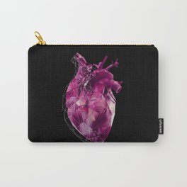 pink polygon heart Carry-All Pouch