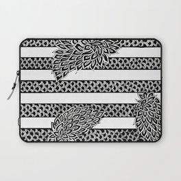 Stripes & Flowers Laptop Sleeve
