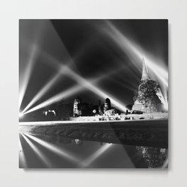 Light show Metal Print