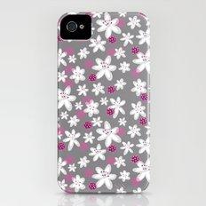 Little White Flowers iPhone (4, 4s) Slim Case