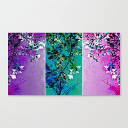 Triptych: Spring Synthesis Canvas Print