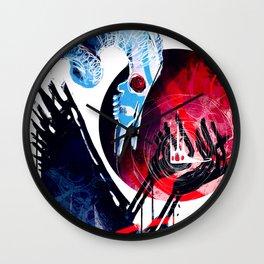 The Devil Wears Tiaras Wall Clock