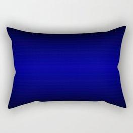 Black highlight blue Rectangular Pillow