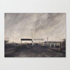 Edgeland  Canvas Print