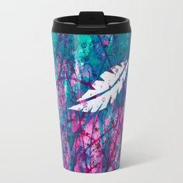 Floating Feather Travel Mug