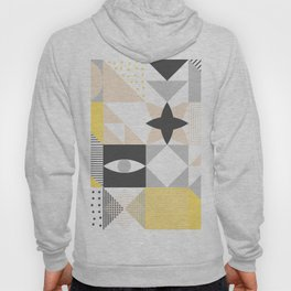 Geometric Pattern based on Scandinavian Graphic Design Hoody