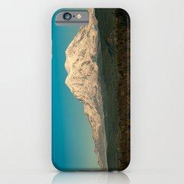 Mount Rainier at Golden Hour iPhone Case