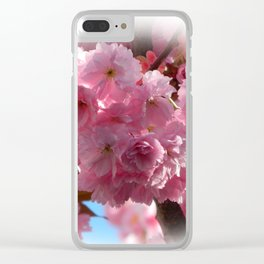Cherry B1 Clear iPhone Case