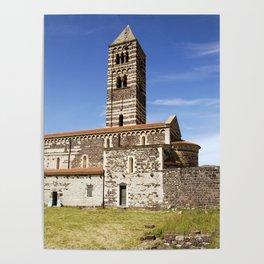 OLD CHURCH of SARDINIA Poster