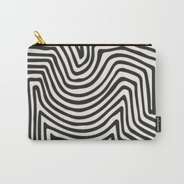 Abstract Line Art, Black And White Art, Abstract Art Print, Minimalist Poster, Abstract, Abstract Pr Carry-All Pouch