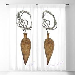 vintage plumb Blackout Curtain
