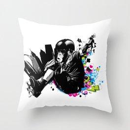 SupaDupaFlyyy Throw Pillow
