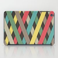 striped iPad Cases featuring Striped by General Design Studio