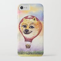 doge iPhone & iPod Cases featuring Wonderful Journey of Doge by anaxjor