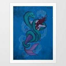 Thats a Moray Art Print
