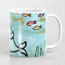 Cute narwhal Coffee Mug