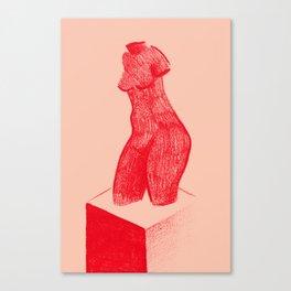 Red Venus Canvas Print