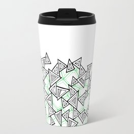 Triangles and Tessellation Travel Mug