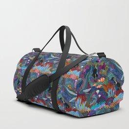 Whale Ocean Life Duffle Bag