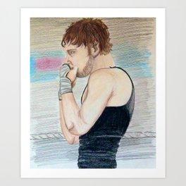 Dean Ambrose Art Print