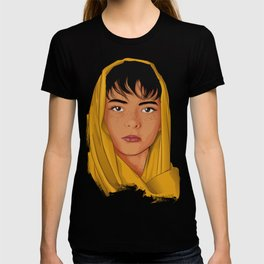 The Girl with the Yellow Scarf - Mona Lala T-shirt
