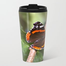 Admiral On The Apple Tree Branch #decor #society6 Travel Mug