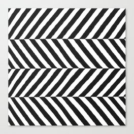 Stripe Graffika  Canvas Print