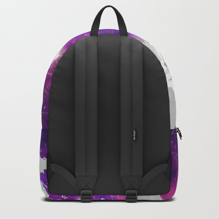 world map political galaxy 3 Backpack