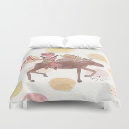 Happy Canada Day Duvet Cover