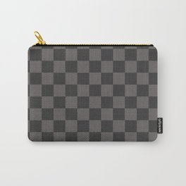 black chess - black squares Carry-All Pouch