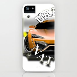 Street car - by SH Design iPhone Case