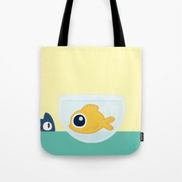 In the waiting line... Tote Bag