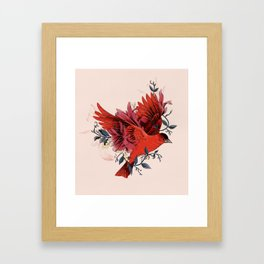 Blooming Bird Framed Art Print