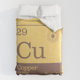 Periodic Elements - 29 Copper (Cu) Comforters