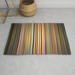 Colourful stripes pattern Rug