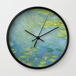 "Claude Monet ""Water Lilies"" (10) Wall Clock"